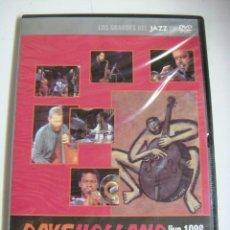 Vídeos y DVD Musicales: D.V.D.LOS GRANDE DEL JAZZ DAVEHOLLAND LIVE 1986 QUINTET (&). Lote 294501663