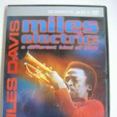 Vídeos y DVD Musicales: D.V.D.LOS GRANDE DEL JAZZ MILES DAVIS (&). Lote 294501738