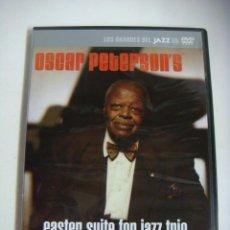 Vídeos y DVD Musicales: D.V.D.LOS GRANDES DEL JAZZ OSCAR PETERSON'S (&). Lote 294501828