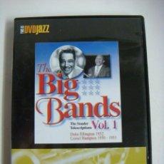 Vídeos y DVD Musicales: D.V.D. DE JAZZ THE BIG BANDS VOL-1 (&). Lote 294502123