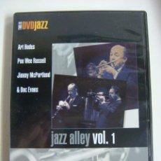 Vídeos y DVD Musicales: D.V.D DE JAZZ JAZZ ALLEY VOL 1 (&). Lote 294502323