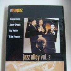 Vídeos y DVD Musicales: D.V.D DE JAZZ JAZZ ALLEY VOL 2 (&). Lote 294502428