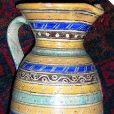 Vintage: RARA Y ORIGINAL JARRA DEL PUENTE (FIRMADA) HACIA 1950. . MEDIDAS: 15,5.CM ALTO.. Lote 26032200