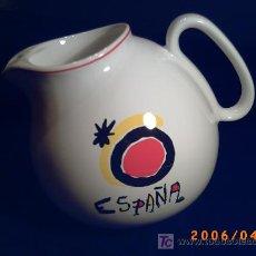 Vintage: JARRA DE CERAMICA - ORIGINAL DISEÑO - LOGOTIPO CREADO POR JOAN MIRO. Lote 26878343