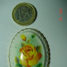Vintage: 8839 PRECIOSO MEDALLON DE PORCELANA INGLESA AÑOS 1950 COSAS&CURIOSAS. Lote 13299871