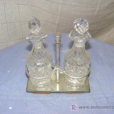 Vintage: PAREJA DE VINAGRERAS. Lote 39240704
