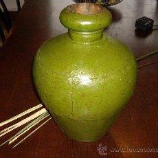 Vintage: CANTARO DE HOJALATA ESTAÑADO 44 CM. ALTO. Lote 26990831