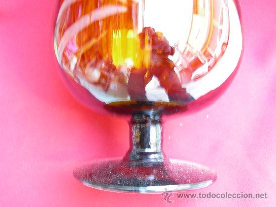 HERMOSO CENTRO CON FORMA DE COPA (Vintage - Decoración - Cristal y Vidrio)