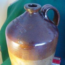 Vintage: ANTIGUO CANTARO GARRAFA DE GRES - NEAL - WINE & SPIRIT MERCHANT - TUNBRIDGE WELLS - 41 CM. ENGLAND. Lote 26737843