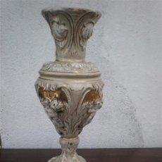 Vintage: JARRON DE CERAMICA FIRMADO. Lote 17207015