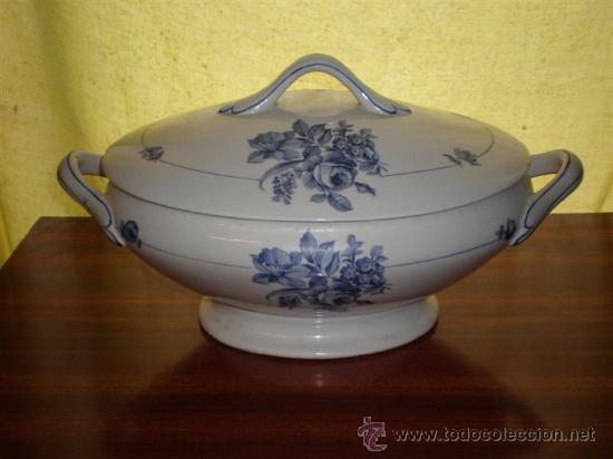 SOPERA PORCELANA VISTAALEGRE (Vintage - Decoración - Porcelanas y Cerámicas)