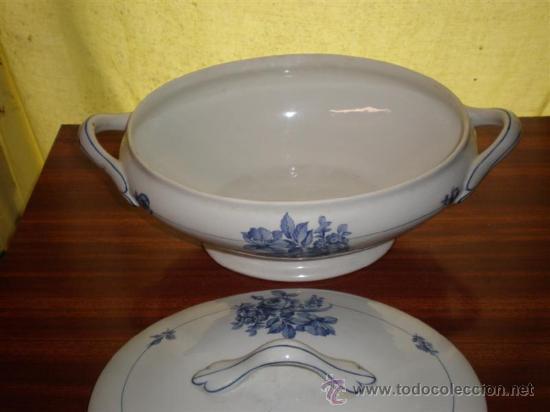 Vintage: sopera porcelana vistaalegre - Foto 2 - 17922738