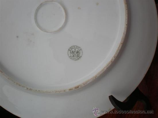 Vintage: plato de ceramica en balco firmado - Foto 2 - 17937740