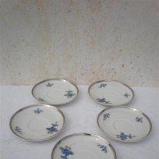 Vintage: 5 PLATOS DE PORCELANA VISTAALEGRE. Lote 17955478