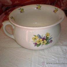 Vintage: ORINAL DE PORCELANA FIRMADO. Lote 18116234