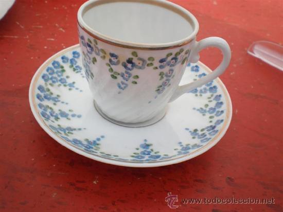 TAZA DE PORCELANA VISTAALEGRE (Vintage - Decoración - Porcelanas y Cerámicas)