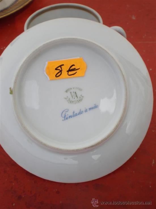 Vintage: taza de porcelana vistaalegre - Foto 2 - 19551102