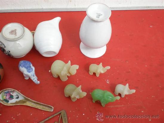 Vintage: lote de 14 piezas ceramicas para vitrina - Foto 2 - 19551146