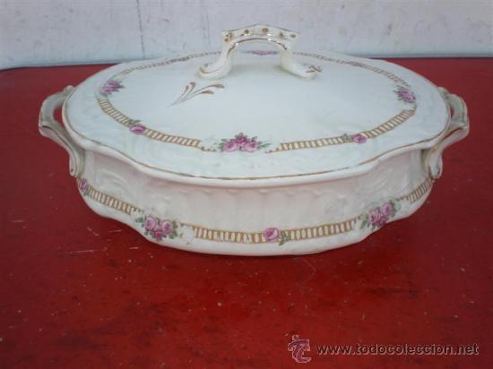 SOPERA DE PORCELANA (Vintage - Decoración - Porcelanas y Cerámicas)