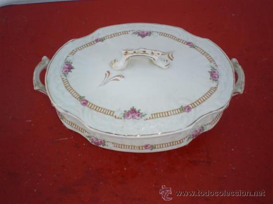 Vintage: sopera de porcelana - Foto 2 - 19569552