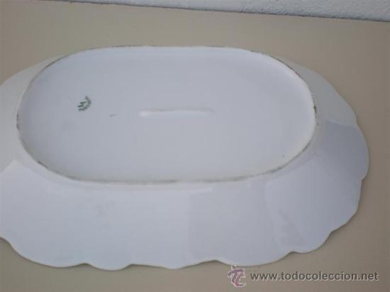 Vintage: bandeja de porcelana vistaalegre - Foto 2 - 20630596