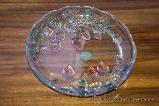 Plato de cristal de la f brica japonesa soga comprar - Fabricantes de cristal ...