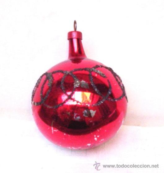 bola gde de antiguo colgante p arbol de navidad