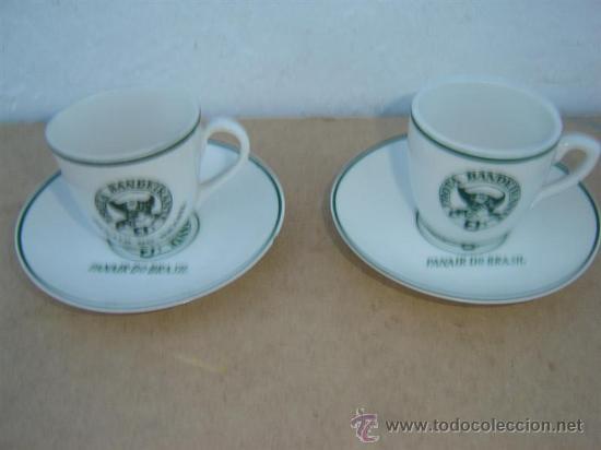 2 TAZAS Y PLATOS PORCELANA VISTA ALEGRE (Vintage - Decoración - Porcelanas y Cerámicas)