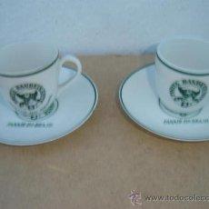 Vintage: 2 TAZAS Y PLATOS PORCELANA VISTA ALEGRE. Lote 23322018