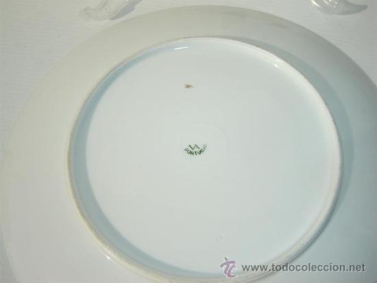 Vintage: plato porcelana vistaalegre - Foto 2 - 23578307