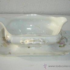Vintage: SALSERA DE PORCELANA. Lote 23582679