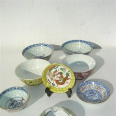 Vintage - varias piezas de porcelana china - 23603147