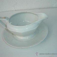 Vintage: SALSERA DE PORCELANA. Lote 23605023