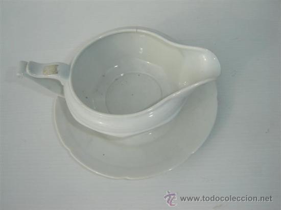 Vintage: salsera de porcelana - Foto 2 - 23605023
