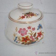 Vintage: AZUCARERO DE PORCELANA. Lote 23993495