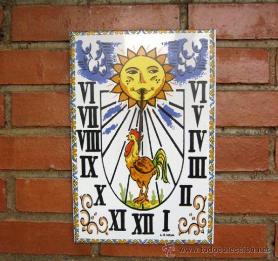 reloj de sol en azulejo de cer mica perfecto comprar On azulejos decorativos exterior
