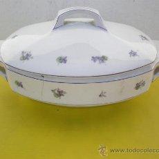 Vintage: SOPERA PORCELANA FIRMADA. Lote 24492200