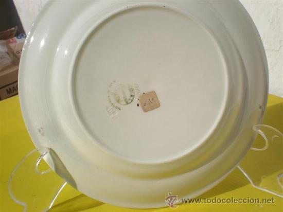 Vintage: plato de ceramica firmado - Foto 2 - 24494727