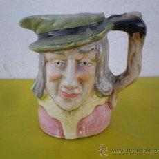 Vintage: JARRA DE CABEZA CERAMICA. Lote 24545570