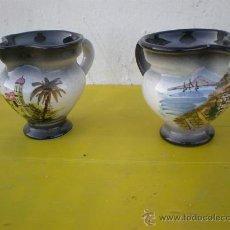 Vintage: 2 PEQUEÑAS JARRITAS. Lote 24563995