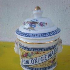 Vintage: BOTE DE FARMACIA DE PORCELANA. Lote 34792383