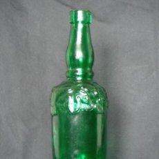 Vintage: BOTELLA DE VINO - VERDE CON RELIEVES - 75CL.. Lote 27158553