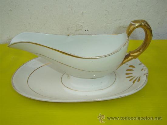 SALSERA DE PORCELANA (Vintage - Decoración - Porcelanas y Cerámicas)