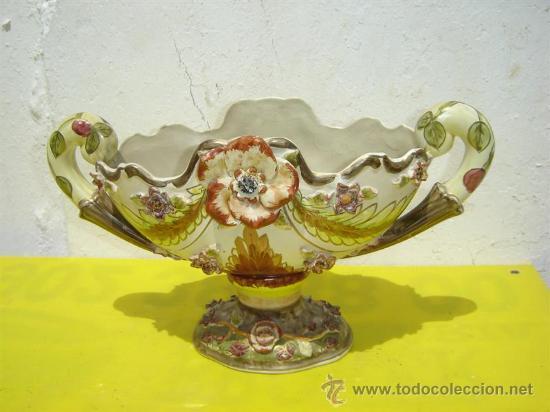 CENTRO DE MESA DE CERAMICA (Vintage - Decoración - Porcelanas y Cerámicas)