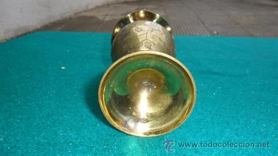 Vintage: florero de bronce - Foto 2 - 28351808