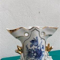 Vintage: FLORERO DE PORCELANA. Lote 28374108