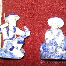 Vintage: FIGURAS CHINAS PAREJA. Lote 29155051