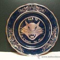 Vintage: PLATO DE LOZA PLATEADA.. Lote 29271221
