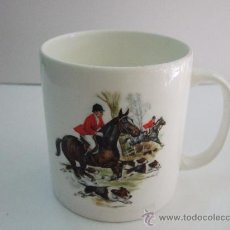 Vintage: TAZA PORCELANA INGLES - JASON WORKS - NANRICH POTTERY - FINE BONE CHINA STAFFORDSHIRE - 9,5X9 . Lote 30254748