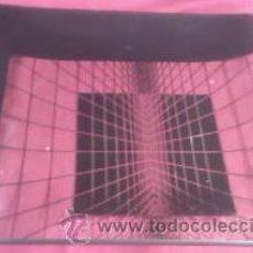 Vintage: CENTRO DE MESA CUADRADO EN CRISTAL DECORACIÓN MUY MODERNA.. Lote 30366328